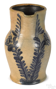 Pennsylvania Remmey stoneware pitcher, 19th c.