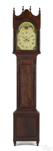 Berks County, Pennsylvania Federal tall case clock