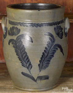 Pennsylvania Remmey stoneware crock, 19th c.