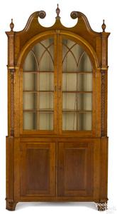 Montgomery County, Pennsylvania Sheraton cupboard
