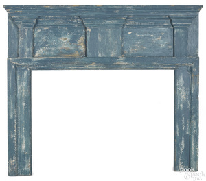 Federal pine mantel, early 19th c.