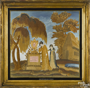 Philadelphia Folwell School needlework memorial