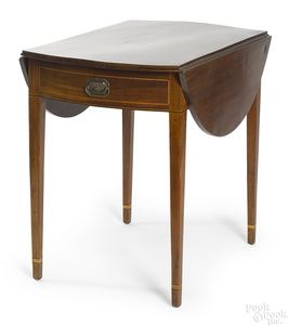 Hepplewhite mahogany Pembroke table, ca. 1805