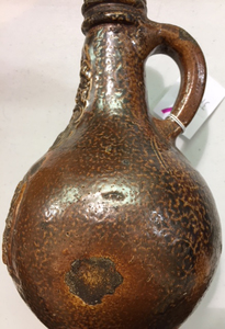 German stoneware bellarmine jug, 17th c.