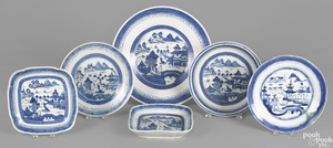 Three Chinese export porcelain Canton