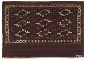 Turkoman bagface, ca. 1900