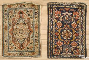 Two Kurdish mats, ca. 1910