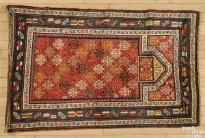 Caucasian prayer rug, ca. 1920