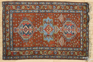 Northwest Persian mat, ca. 1940