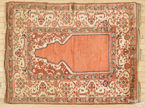 Turkish prayer rug, ca. 1940