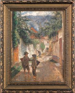 Joseph Eugene Horwarter (Austrian, 1854-1925), oil