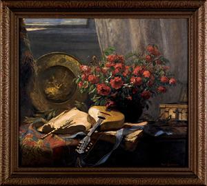 Hugo Charlemont (French/Austrian, 1850-1939), oiln
