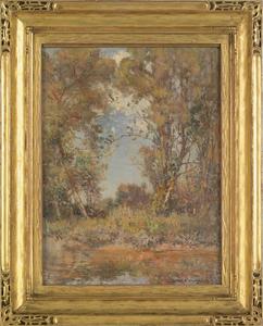 David Birdsley Walkley (American, 1849-1934), oiln