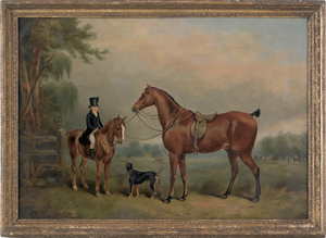 English School, early/Mid 19th c.), oil on canvasf
