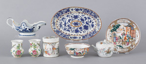 Collection of export porcelain, 18th/19th c., to i
