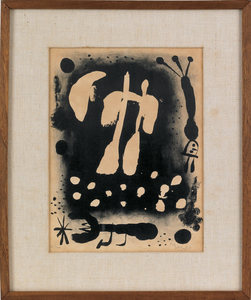 Joan Miro (Spanish), untitled lithograph, signed l