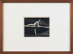 Rockwell Kent (American, 1882-1971), wood engravin