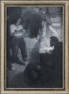 Frank Earle Schoonover (American, 1877-1972), oiln