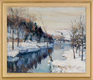 Walter Emerson Baum (American, 1884-1956), oil ona
