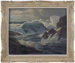 William Columbus Ehrig (American, 1892-1973), oiln