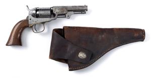 Colt model 1849 percussion pocket revolver, .31 ca
