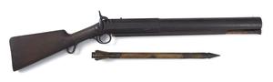 C.C. Brand percussion whaling gun, 7/8