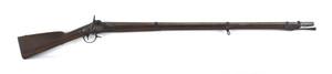 U.S. model 1816 musket, .69 caliber, the lock mark
