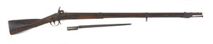 Asa Waters U.S. model 1816 musket, .69 caliber, co
