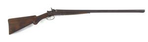Colt model 1878 double barrel shotgun, 12 gauge wi