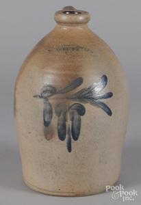 Pennsylvania two-gallon stoneware jug, 19th c.