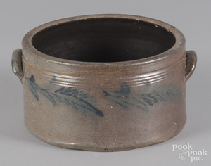 Pennsylvania stoneware butter crock, 19th c.