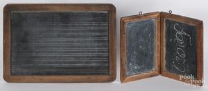 Two early chalkboards.