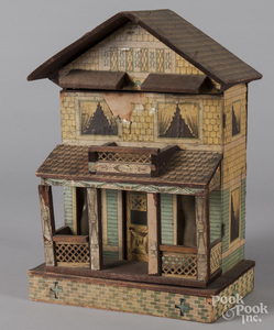 Bliss paper litho doll house