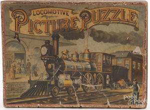 McCloughlin Bros. Locomotive Picture Puzzle