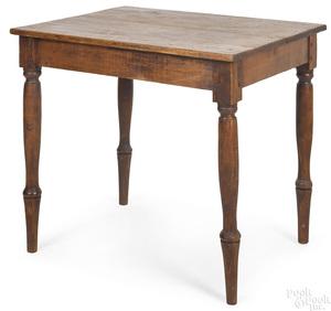 Southern Sheraton hard pine work table