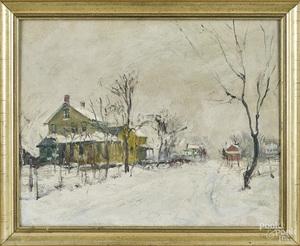 Walter Emerson Baum winter landscape