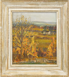 Fern Coppedge autumnal landscape