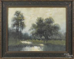 Alexander John Drysdale southern bayou landscape