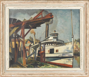 Charles Rosen ship portrait