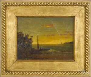 George Phinney sunset coastal scene