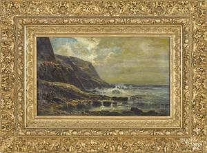 Carl Philipp Weber coastal scene