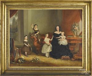 Charles Dickinson Langley interior scene