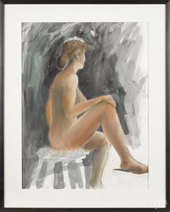 Gary Butson, female nude
