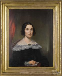 Pair of portraits attributed to Waldo & Jewett