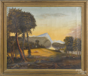 Charles Henry Miller, Hudson River view