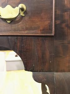 Philadelphia Queen Anne mahogany high chest