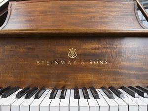 Steinway Model L baby grand piano