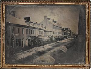 Rare full plate daguerreotype