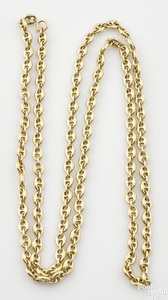 18K yellow gold Gucci link necklace