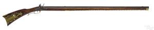 Pennsylvania full stock flintlock rifle